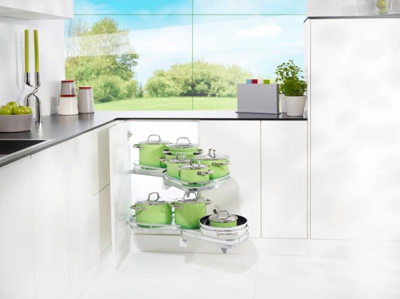 Küchen Eckschrank Schwenkauszug ~ LeMansEckschrankSchwenkauszug  InnenschrankAusstattung  küchen
